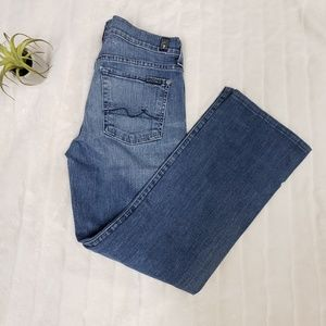 7 for All Mankind boot cut jeans size 27